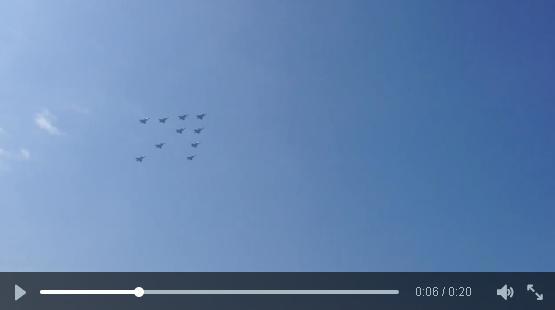 cena vídeo 10 anos Gripen República Tcheca via twitter