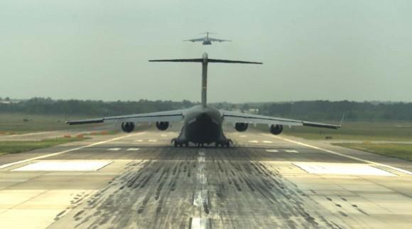 C-17 - exercício Crescent Reach com 11 aeronaves - foto 2 USAF