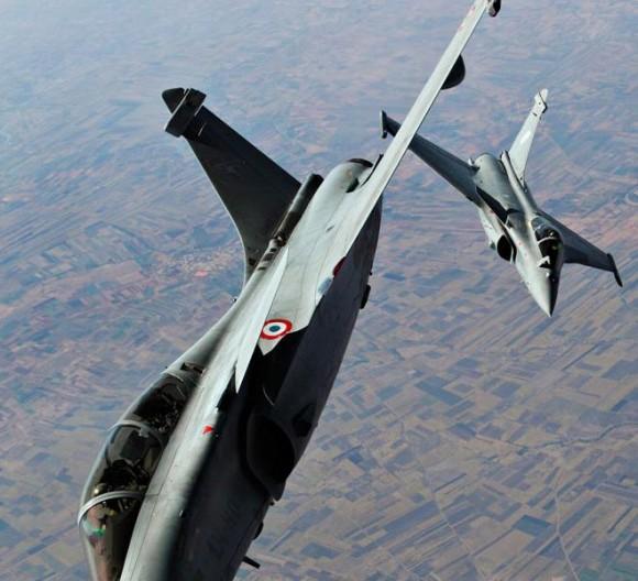 Caças Rafale no Aero India - destaque foto Força Aérea Francesa