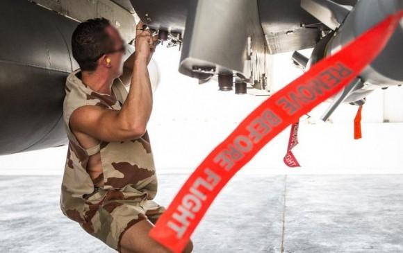 Caças Rafale voltam de missão sobre o Iraque em 30-5-2015 - foto 4 MD França