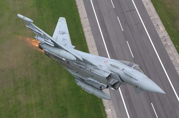 Eurofighter Typhoon - foto Força Aérea Italiana