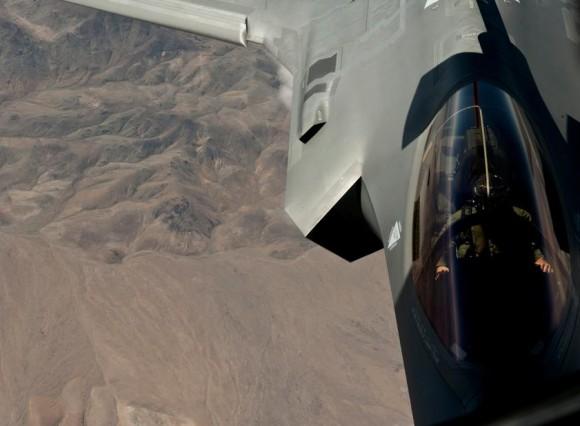 F-35A no exercício Green Flag - junho2015 - foto 2 USAF