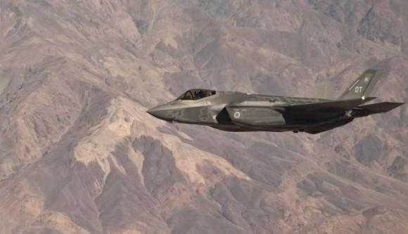 F-35A no exercício Green Flag - junho2015 - foto 3 USAF