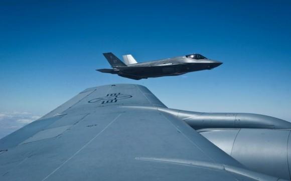 F-35A no exercício Green Flag - junho2015 - foto USAF