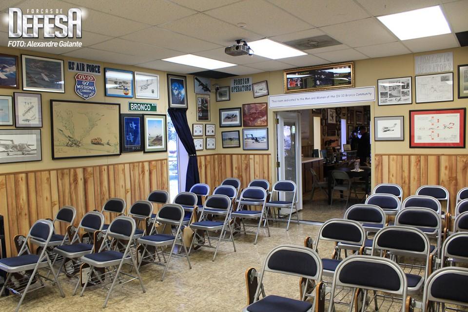 OV-10 Bronco Ready Room