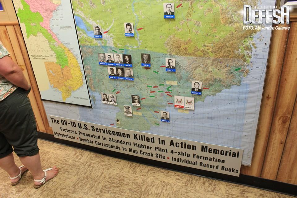 OV-10 Bronco servicemen killed in action memorial