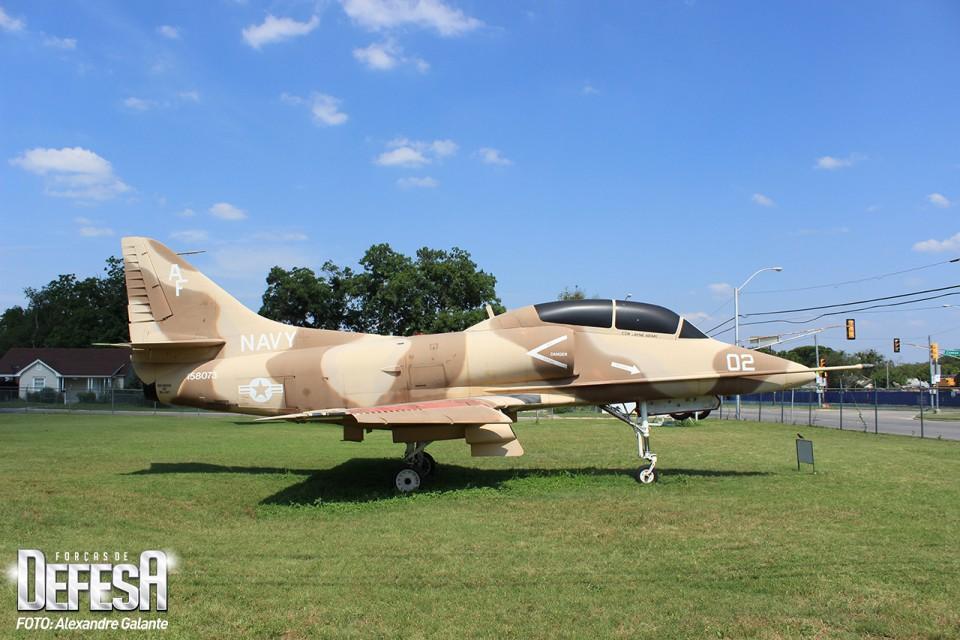Skyhawk TA-4J Serial 158073