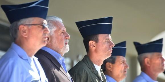 Ministro da Defesa e militares da Aeronáutica em Natal - foto MD - T Sobreira