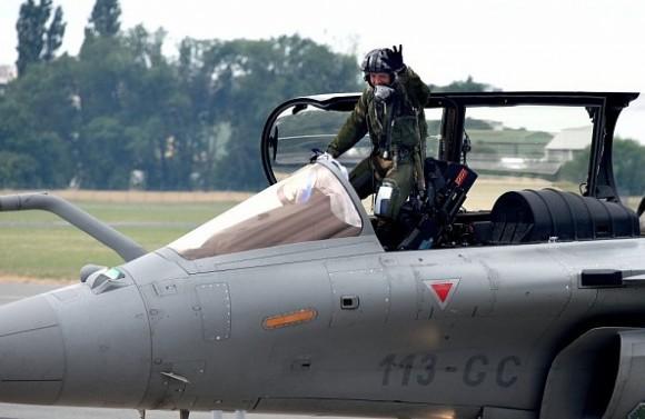 Rafale deixa Salao Le Bourget 2015 - foto 3 Dassault