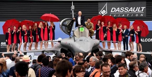 Rafale deixa Salao Le Bourget 2015 - foto 5 Dassault
