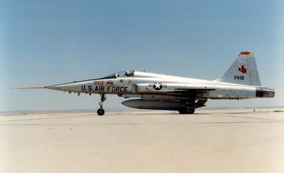 Northrop F-5E (Tail No. 11418). (U.S. Air Force)