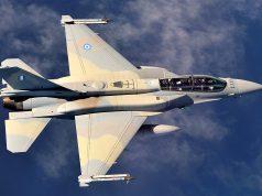 F-16D da Força Aérea Grega
