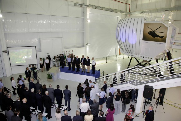 MD inaugura Centro de Treinamento da Helibras