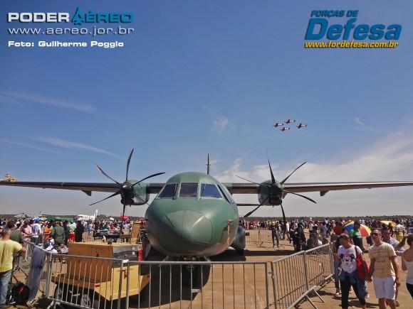 Portões Abertos domingo aereo AFA 2015 C-105 02 - foto poggio