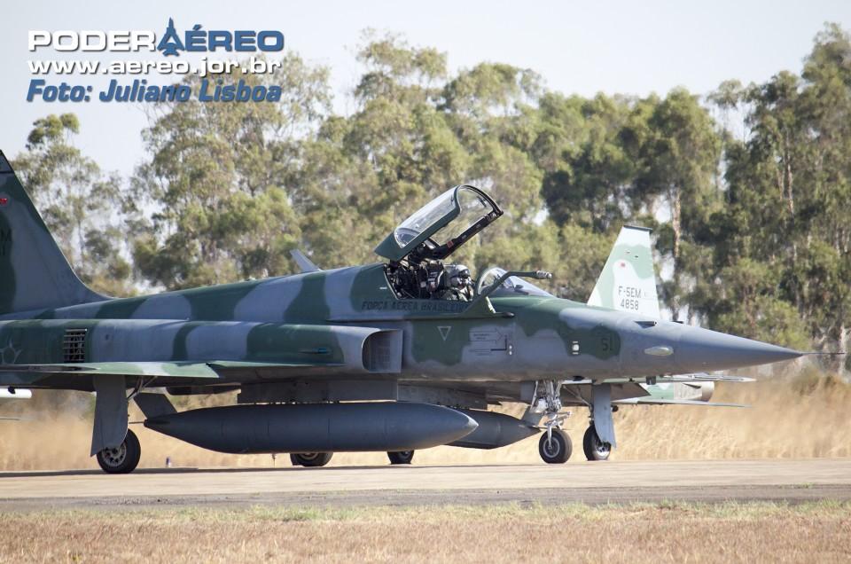 Força Aérea Brasileira Exercício BVR - 8