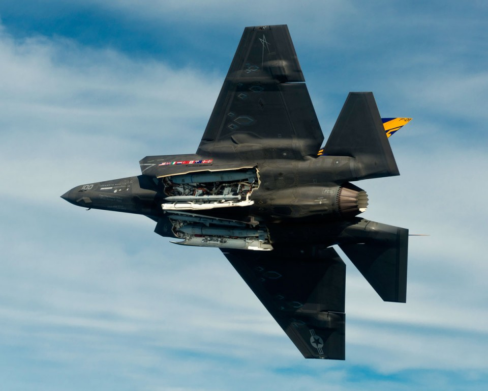 F-35 - F-35C with JSOW