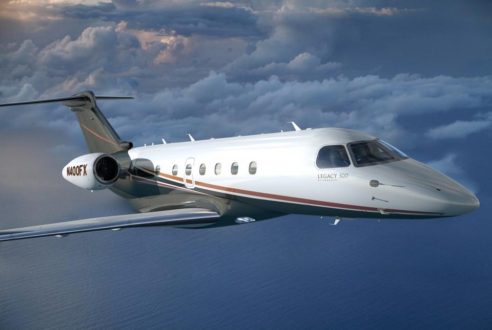Embraer Flexjet Legacy 500
