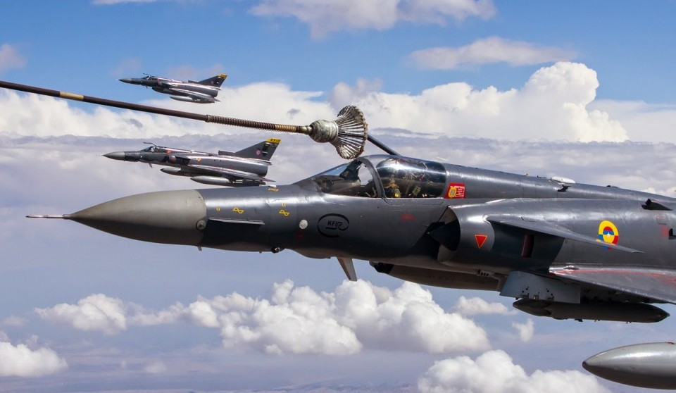 Kfir Fuerza Aerea Colombiana