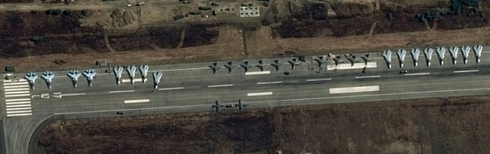 Russian Aircrafts in Syria 2