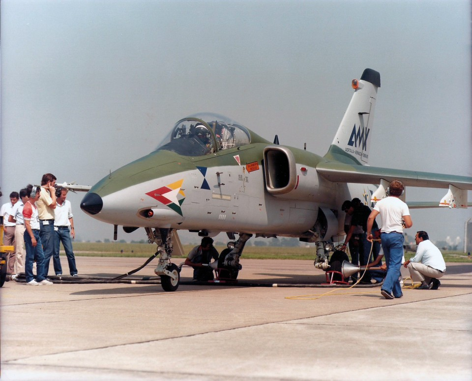 AMX 15 - Preparacao para voo