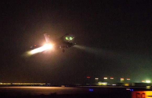 Rafale na operacao Chammal - foto Forca Aerea Francesa via Min Def Franca