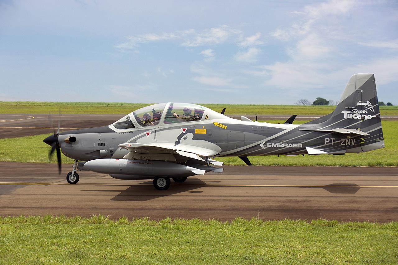 Demonstrador A-29B Super Tucano - 2