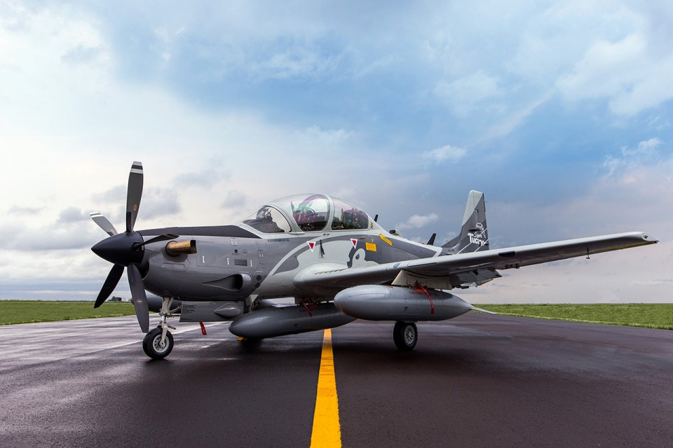 Demonstrador A-29B Super Tucano - 4