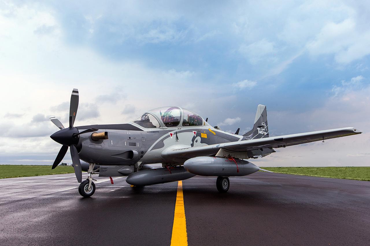 Demonstrador A-29B Super Tucano - 4