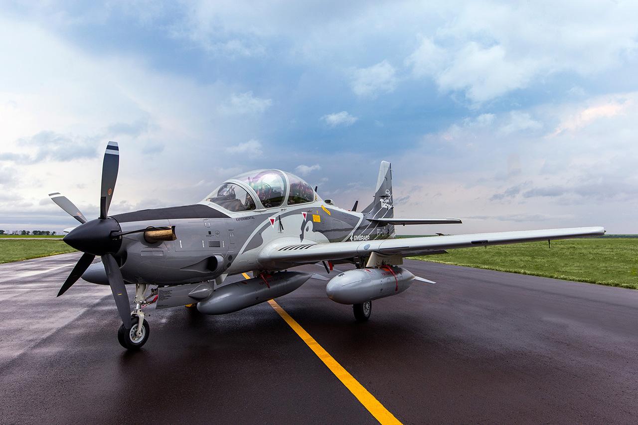 Demonstrador A-29B Super Tucano - 6