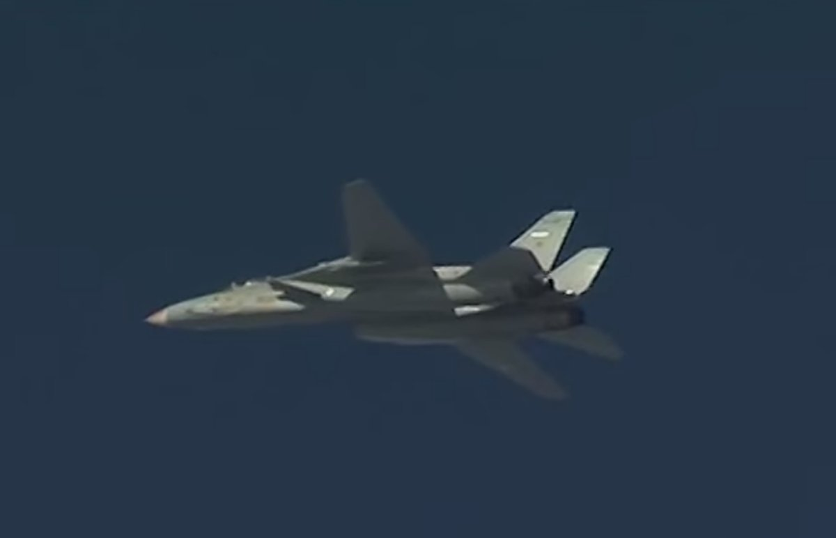 F-14 da IRIAF intercepta Tu-95 russo 2