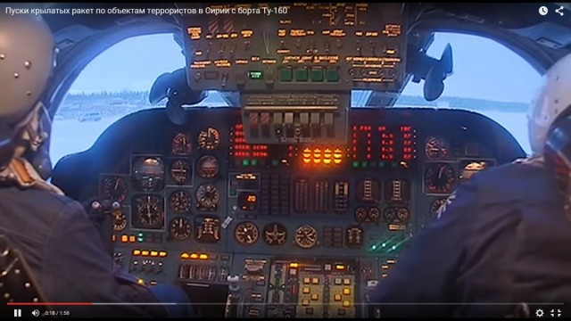 cabina Tu-160