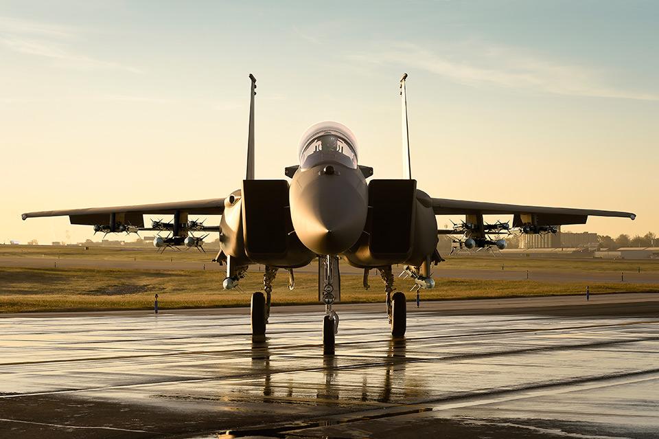 O F-15 versão 2040C