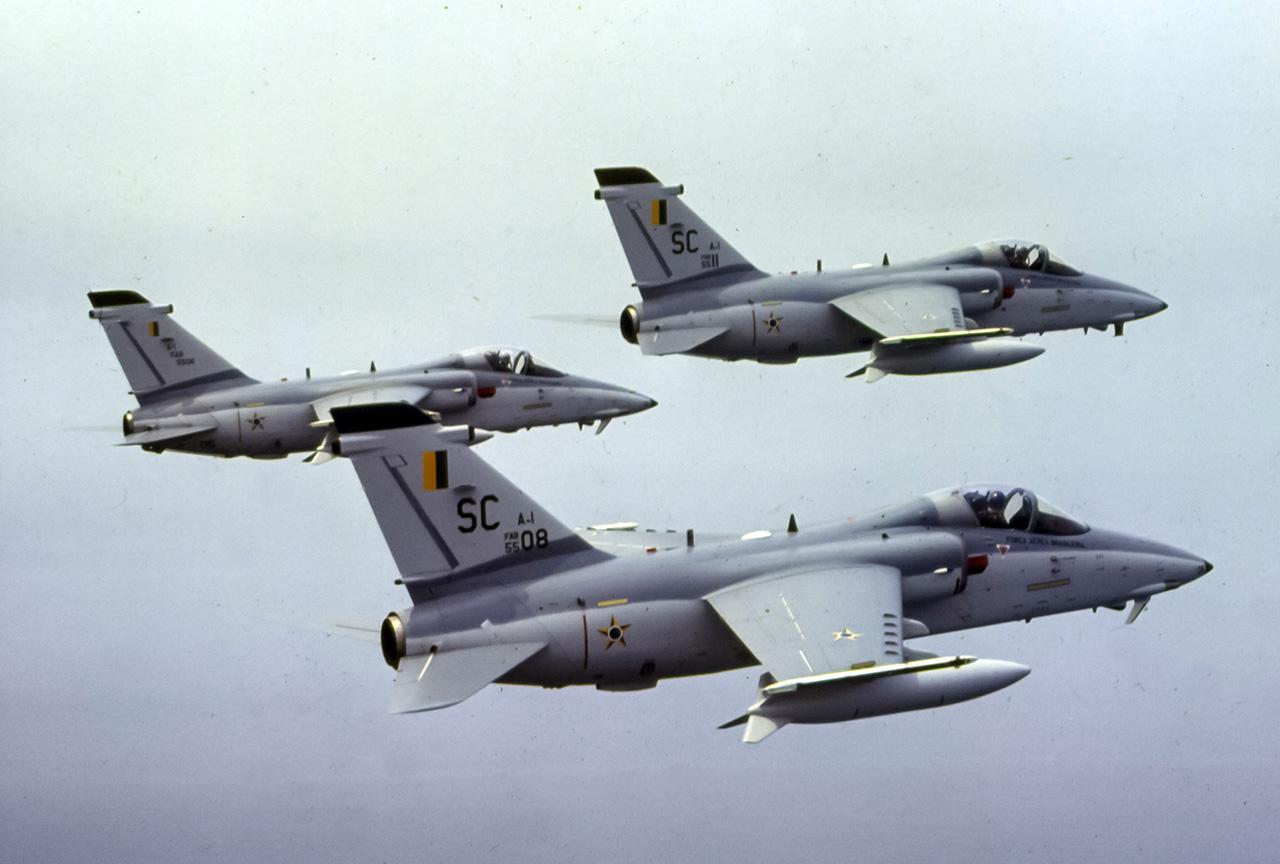 A-1 em voo