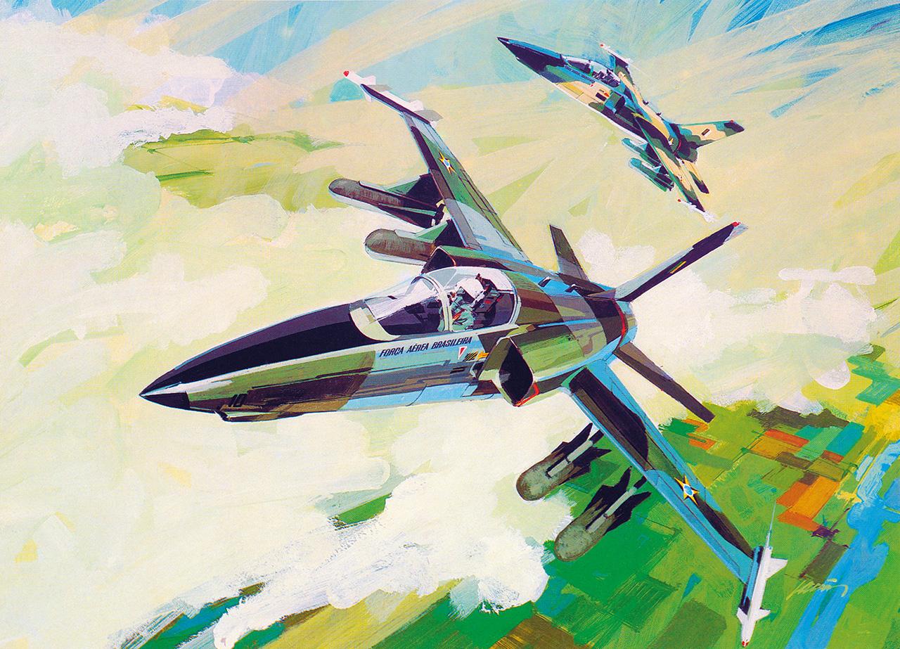 AMX - concepcao artistica inicio dos anos 80 - arquivo Poggio 2