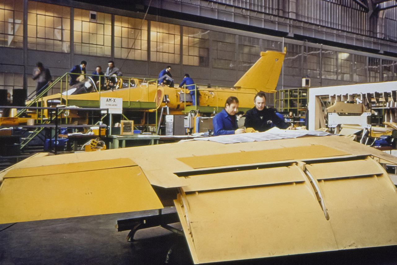 AMX em produção