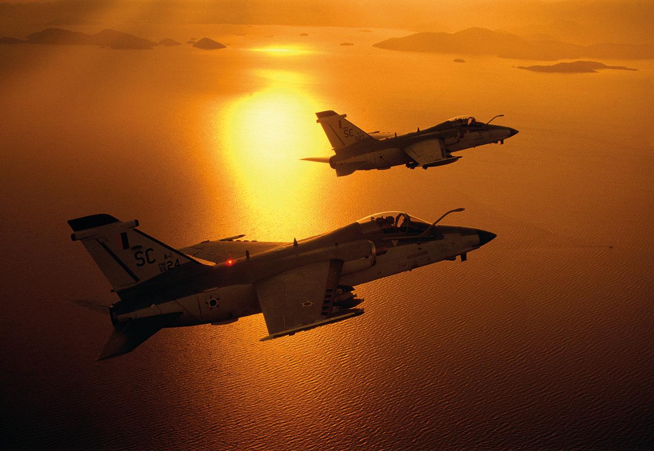 AMX em voo