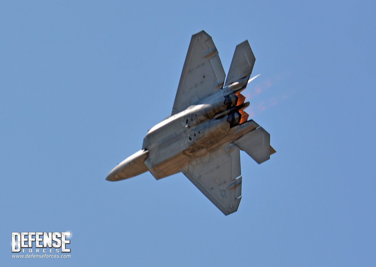 Fort Worth Alliance Air Show 2015 - F-22 - 10