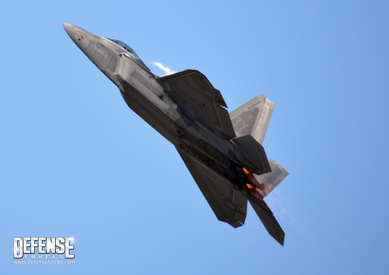 Fort Worth Alliance Air Show 2015 - F-22 - 12