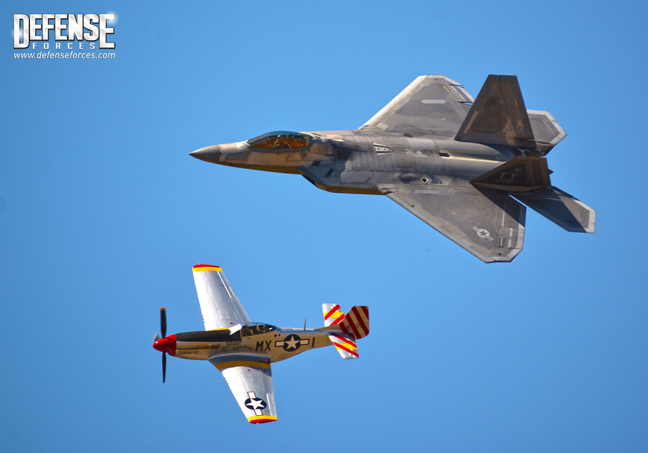 Fort Worth Alliance Air Show 2015 - F-22 - 15