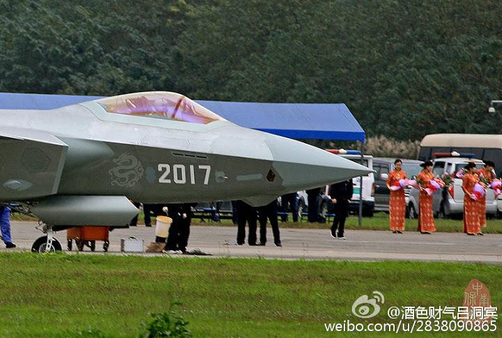 J-20 protótipo 2017