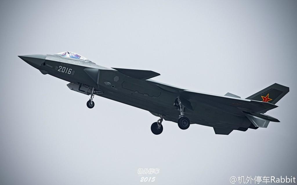 J-20 - protótipo de 2015