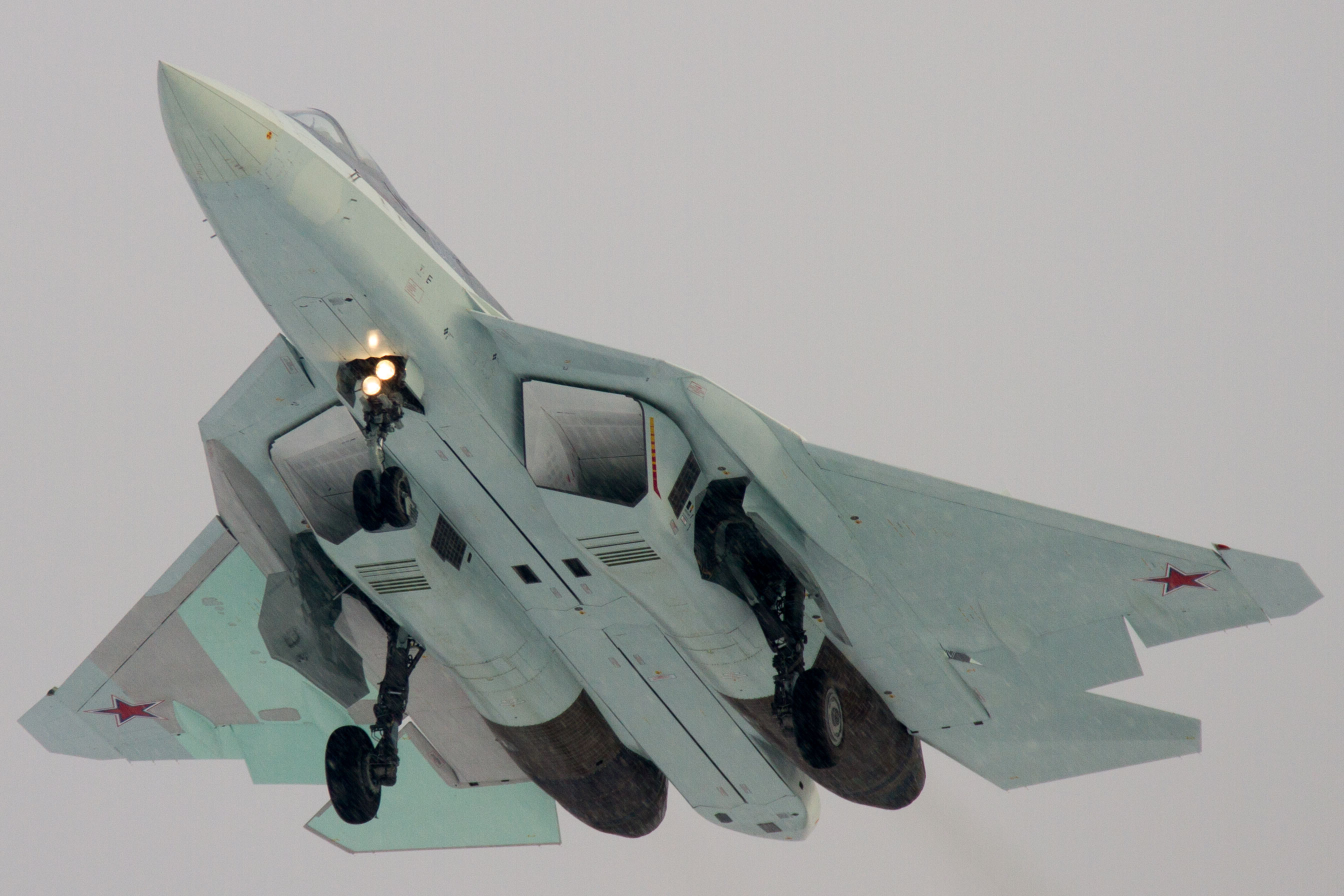 PAK FA T-50 in Chelyabinsk - 1