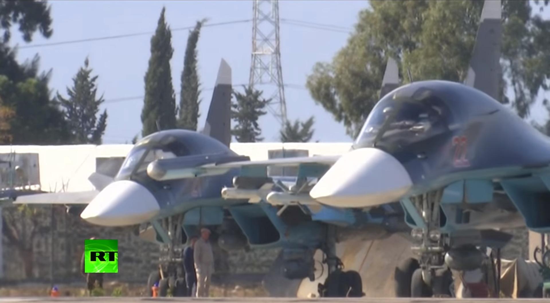 Su-34 com AAM na Siria 1