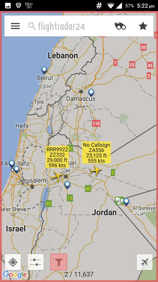 ZZ332 seguindo para o Iraque