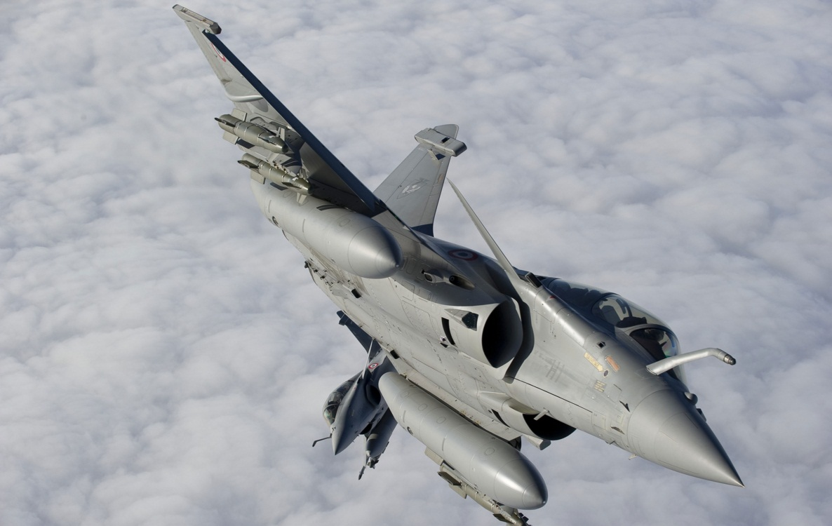 Jatos Rafale fazem Break - foto Forca Aerea Francesa via Dassault