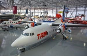 F-27 no Museu da TAM