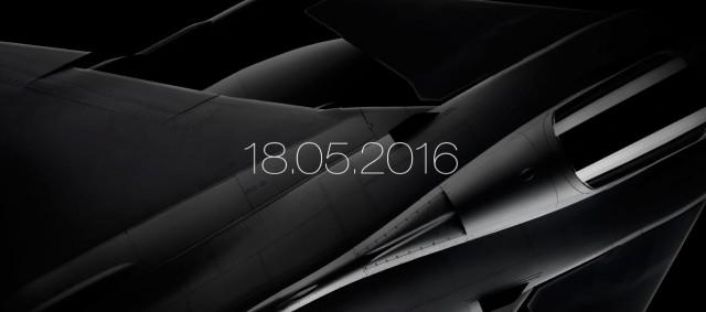 Gripen E - NG - imagem data apresentacao prototipo em 18-5-2016