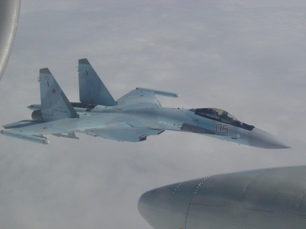 Su-35S en route to Sirya - 2