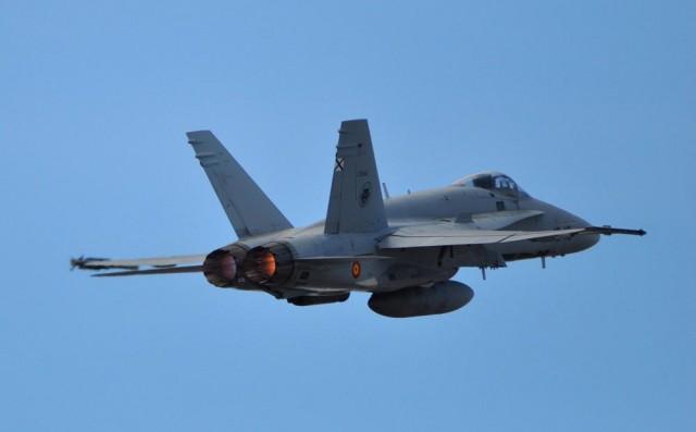 DACT 2016 - F-18 - foto 2 Ejercito del Aire