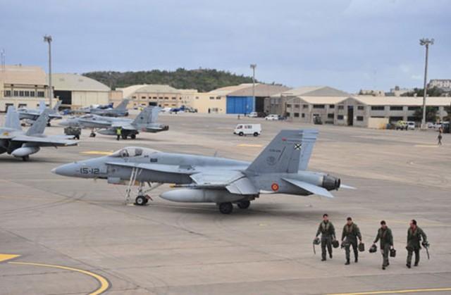 DACT 2016 - F-18 - foto 3 Ejercito del Aire